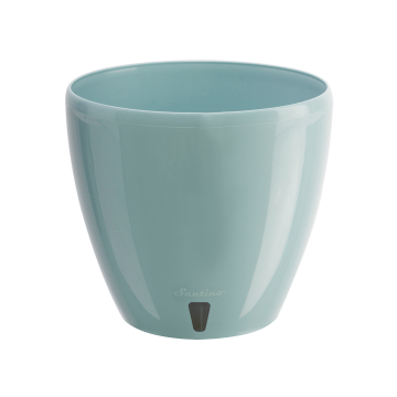 Santino Self-Watering Planter DECO' TWIN with a drainage cartridge